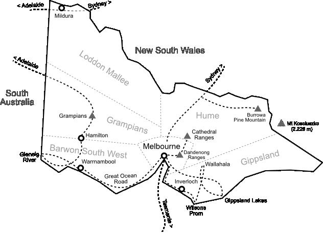 Carte Victoria